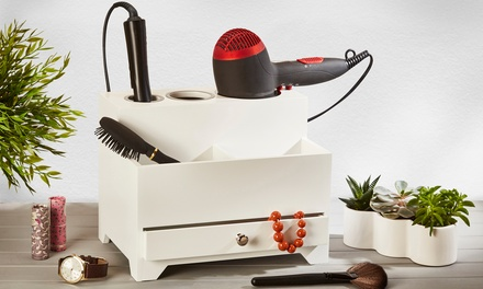 Wooden Hairstyle Station or Cosmetic Organisers in Choice of Colour