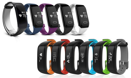 Apachie Bluetooth Sports Activity Tracker with Heart Rate Monitor, Swim Activity Tracker or Blood Pressure Tracker
