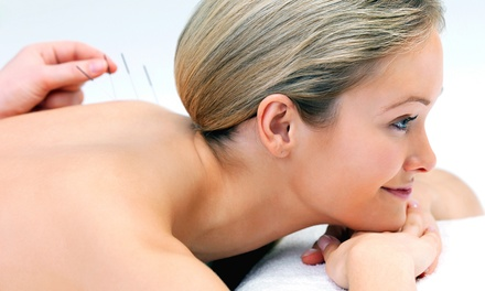 Choice of Massage With Acupuncture for £19 at Aneugene Health Centre (Up to 68% Off)