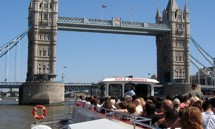 Three Day River Red Rover Cruise Pass for Child or Adult with City Cruises (Up to 50% Off)