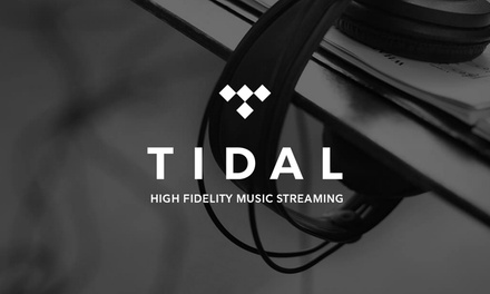 Three Months Free of Tidal Music Premium Streaming