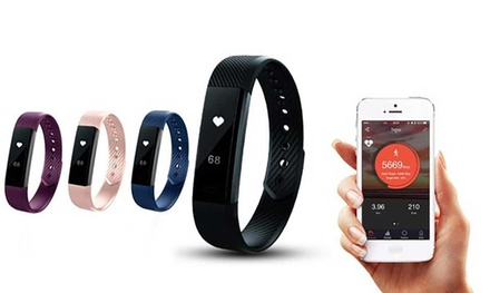 Aquarius Touch Screen Fitness Tracker with Heart Rate Monitor